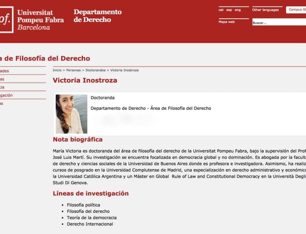 Gostujoča raziskovalka: María Victoria Inostroza