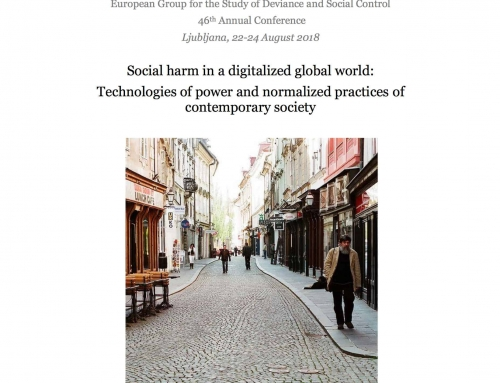 European Group for the Study of Deviance and Social Control: 46th Annual Conference, Ljubljana 2018. Programme booklet