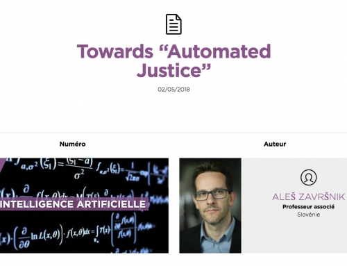 "Towards ""Automated Justice"" – Aleš Završnik"