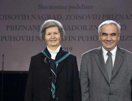 Zoisova nagrada za življenjsko delo Alenki Šelih