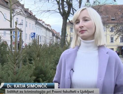 Katja Simončič v oddaji Intelekta