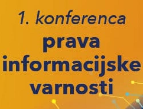 Prva konferenca prava informacijske varnosti