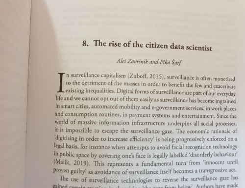 Poglavje dr. Aleša Završnika in Pike Šarf v knjigi Mapping Crisis