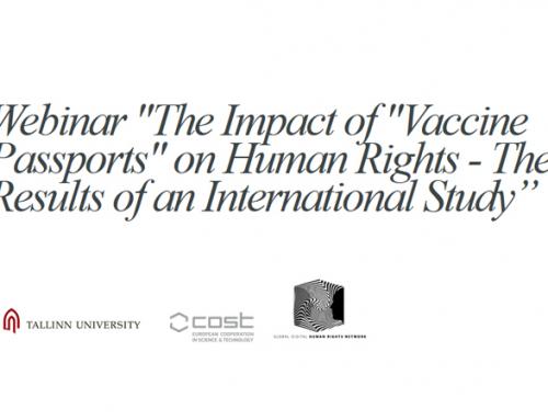 Študija o vplivu cepilnih potnih listov na človekove pravice